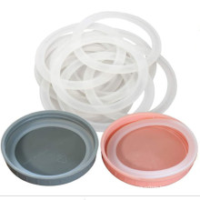 Food Grade Silicone Sealing Rings Seals Gaskets for Wide Mouth Mason Jar Plastic Lid