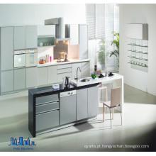 Gabinetes de cozinha modernos por atacado (MDF, MFC, pacote plano)