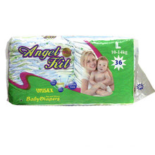 Hot Sale Baby Diaper with 3D Leak-Guard.