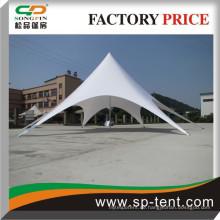 Feuerfeste PVC-Stoff Sternform Zelt schöne Spielzelt