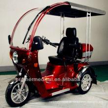 Triciclo de gás com deficiência