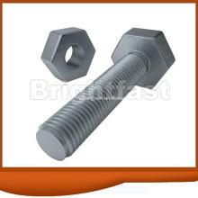 Alliage acier classe 10.9 boulon à tête hexagonale pour Machine
