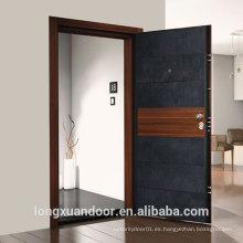 Puertas acorazadas de acero de Itanian del estilo de encargo de Italia, puerta de la seguridad del acero exterior de la calidad