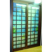 De Bonne Qualité Portes en verre coulissantes en aluminium de patio
