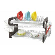Estante de tigela de tipo 9, prateleira de plástico prateleira de cozinha quadro multiusos