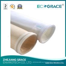 Bolsillo del filtro de la aramida del paño del polvo de la industria del tabaco