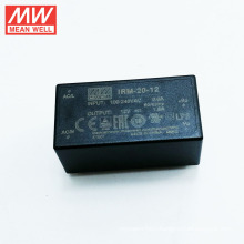 Meanwell IRM-20-12 20W Single Output Encapsulated Type open frame power supply