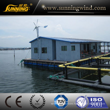 Wind Turbine and Solar Panel Hybrid System