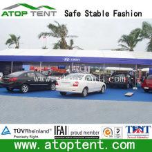 outdoor custom trade show car tent