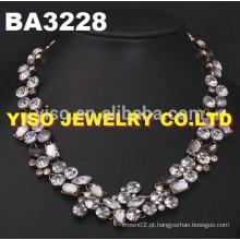 Colar de diamantes de moda nupcial