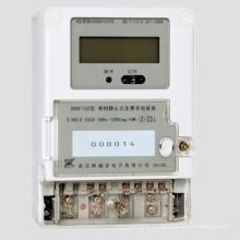 Medidor electrónico monofásico de frecuencia múltiple con comunicación Carrier Wave / PLC