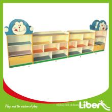 2014 Prateleira de livro bonito das crianças da série LE-SJ.032 do brinquedo e do armário