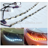 2016 new Flexible LED DRL Strips Switchback DRL light, Turn Signal Light for Sonata 8