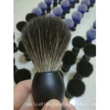 Klantlogo Black Synthetic Hair Shaving Brush