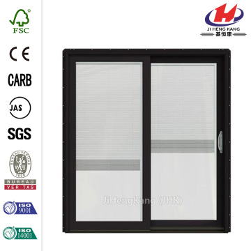 Dark Chocolate Prehung Sliding Patio Door