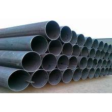 Tubo de acero ERW galvanizado y negro sin costura certificado SGS