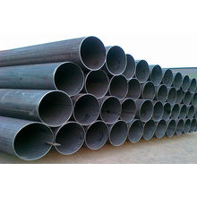 SGS Certified Galvanized and Balck Seamless ERW Steel Tube