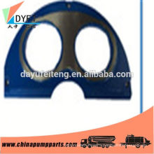 mitsubishi concrete pump parts wear plate for sale