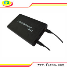 USB 2.0 External 3.5 Hard Drive Enclosure