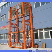 Vertical Wall Mounted Warehouse Cargo Lift Platform