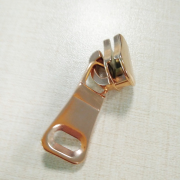 Brass Zipper Parts Rose Gold Zipper Pulls