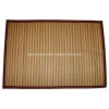 Tapete de bambu para jantar / tapete de bambu