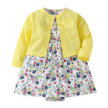 Amazon Hot Sale Cotton Baby Girl Clothes Baby Summer Romper Dress Designs