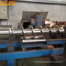 high quality of feed screw and barrel design for rubber extruder
