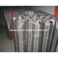Malla de alambre tejida del acero inoxidable, 1 -2300mesh, red de alambre, red (holandés, tela cruzada, armadura llana)