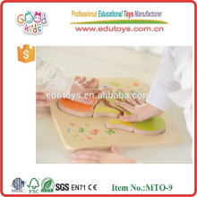 Fingers counting board handmade wooden puzzles