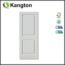 Recubrimiento de imprimación blanco Tejido de puerta moldeado HDF (piel de la puerta de imprimación)