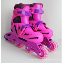 Plastic Inline Skate with EN 71 Certification (YV-135)