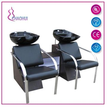 Double fauteuil shampoing