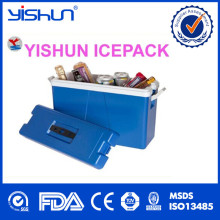 Plastic Cooler Box Frozen Food Small Ice Foldable Cold Chain Box