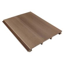 Parement circulaire de plancher de Decking de plancher en bois en plastique de bois de construction en plastique