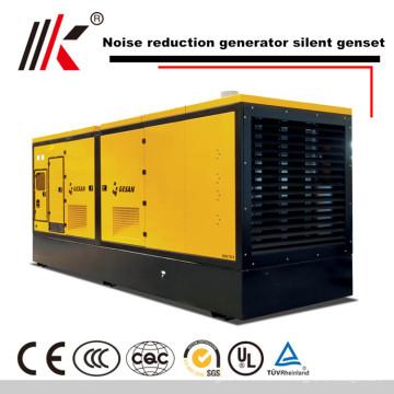 generador silencioso del motor diesel 300KW precio diesel silencioso del generador diesel del combustible pesado para Malasia