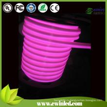 AC220V Светодиодная внутренняя декоративная неоновая веревка светло-розовая