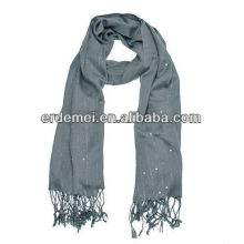 High quality solid color sequin scarf shawls