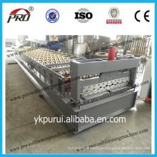 Máquina de formação de rolo de telhado de preço mais baixo / Máquina de moldagem de rolo ondulado