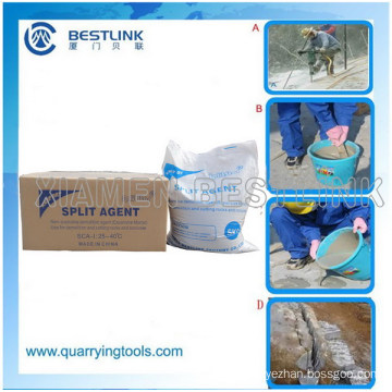 Drilled Grout Hole Crack Powder for Granite