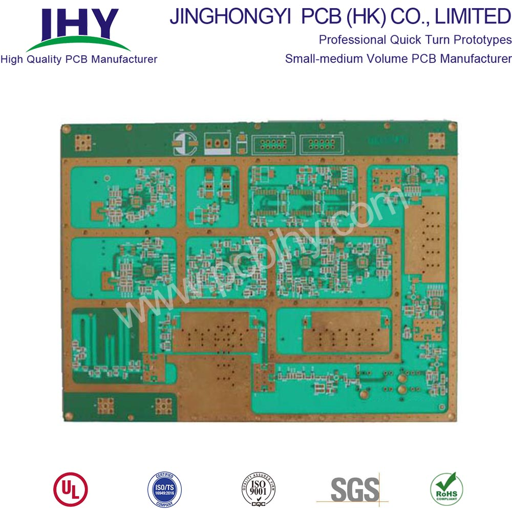 8 Layer Rogers Ro4003 Ceramic Mixed Pressure High Frequency PCB