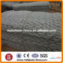 2015 shengxin quente venda negativo torção quente mergulhado galvanizado malha de arame hexagonal, gaiolas de frango