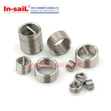 2016 en gros en acier inoxydable fabricant hélicoïdal d'insertion pour le métal