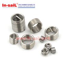 Fabricante por atacado helicoidal de aço inoxidável da inserção 2016 para o metal