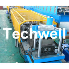 18 Forming Station, Plc Control Steel Door Frame Roll Forming Machine