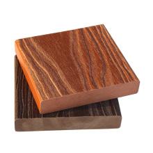 piso de cubierta de madera resistente al agua compuesto plástico de madera