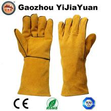 En12477 Guante de soldadura para trabajo industrial resistente al calor