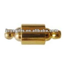 Fermoir magnétique avec bracelet en cuir rond en cuir
