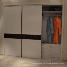 Modernos muebles de dormitorio deslizante / puerta abierta armario armario (suministro directo de fábrica)
