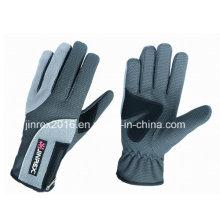 Windproof Winter Outdoor Reflektierende Mode Full Fingers Sport Handschuh-Jw09b11